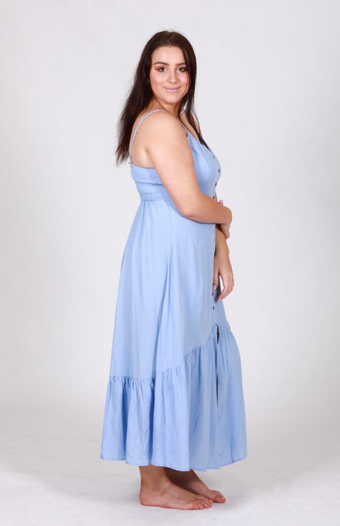 Bernadette Maxi Dress BB side