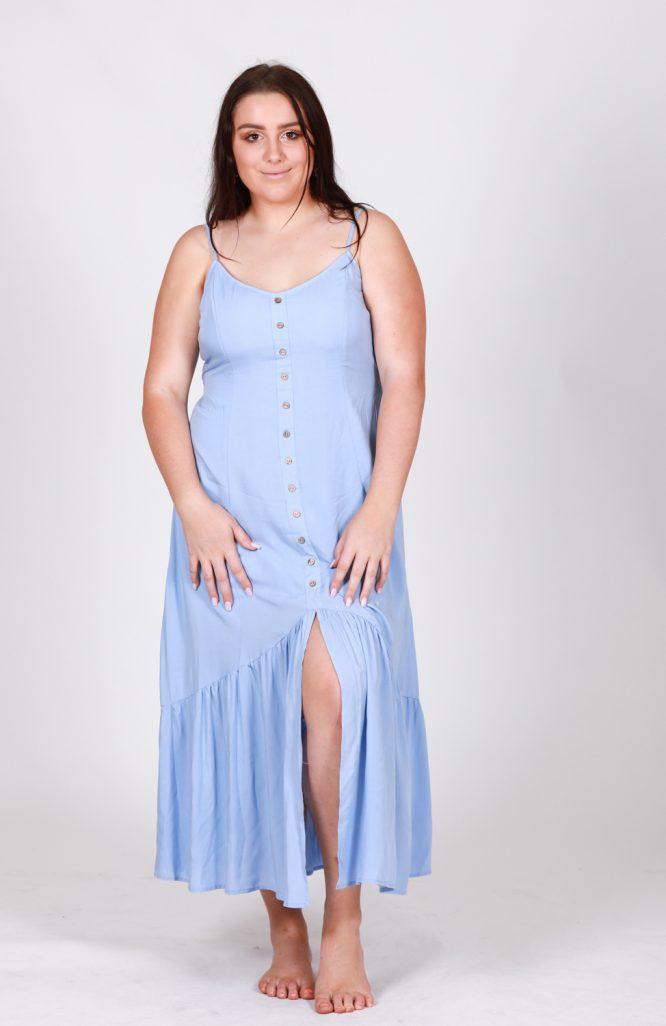 Bernadette Maxi Dress BB front