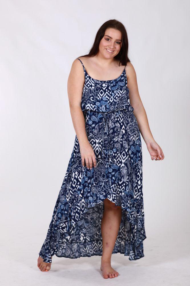 Hannah Hi-Low Dress f