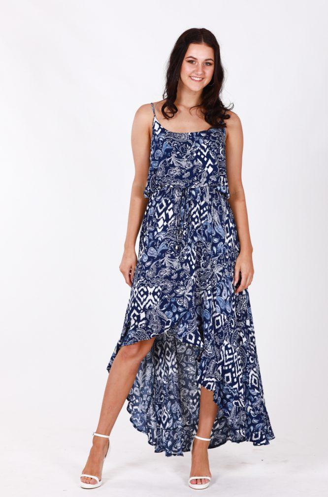Hannah Hi-Low Dress l