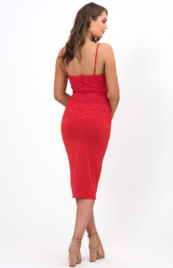 A Touch Of Lace red back
