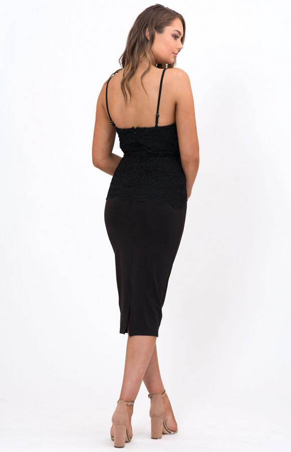 A Touch Of Lace black back