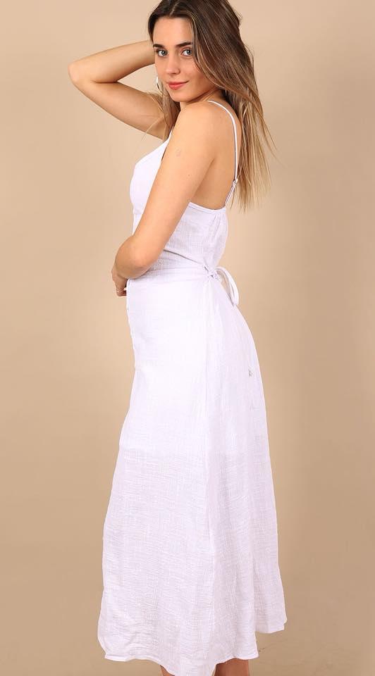 Rachel Linen Maxi Dress