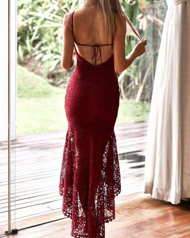 Mesina Dress back