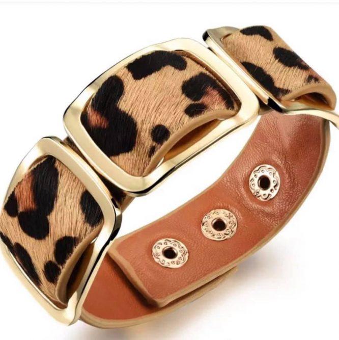 Safari Nights Leopard Bracelet