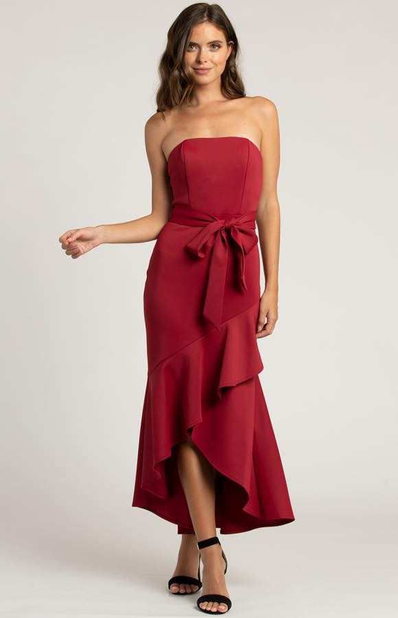 Marseille strapless Midi Dress 3
