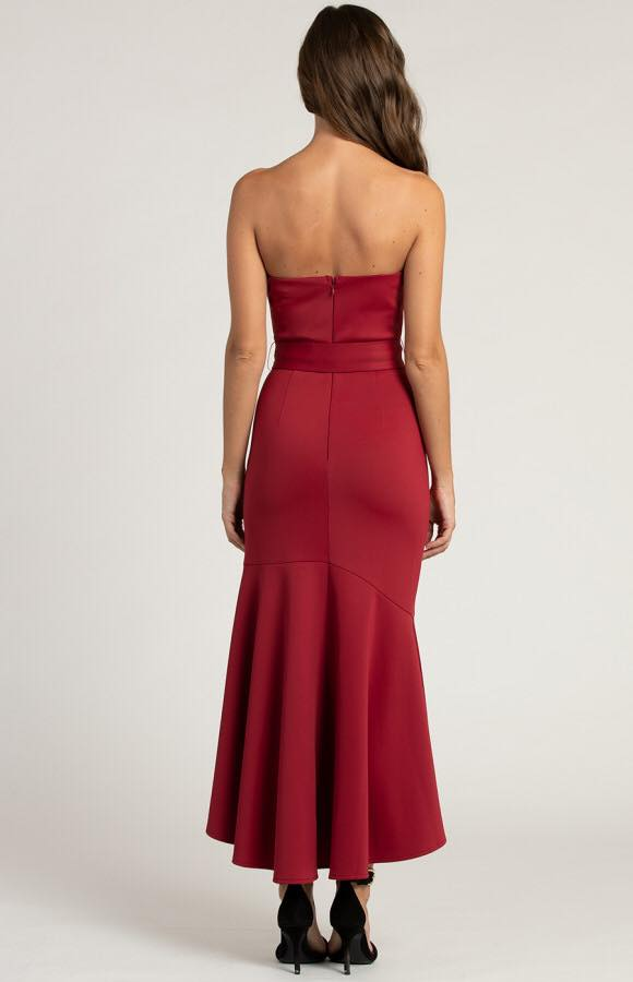 Marseille strapless Midi Dress 4