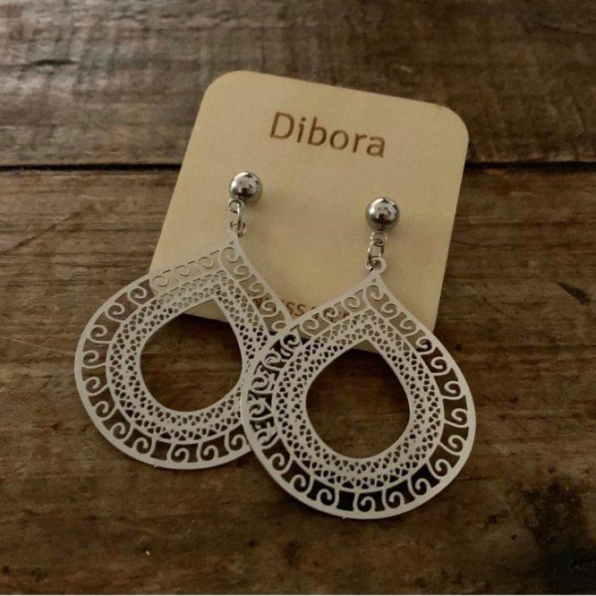 Water Drop Stainless Steel Earrings - Dibora 2