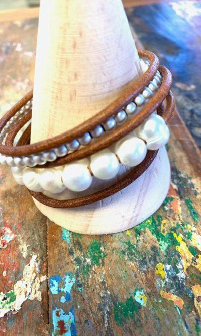 Oceans Apart Pearl Bracelet