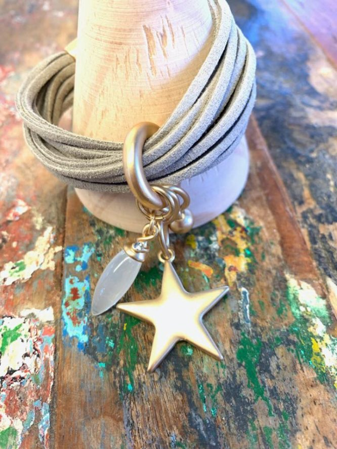 Polaris Star Cuff Bracelet