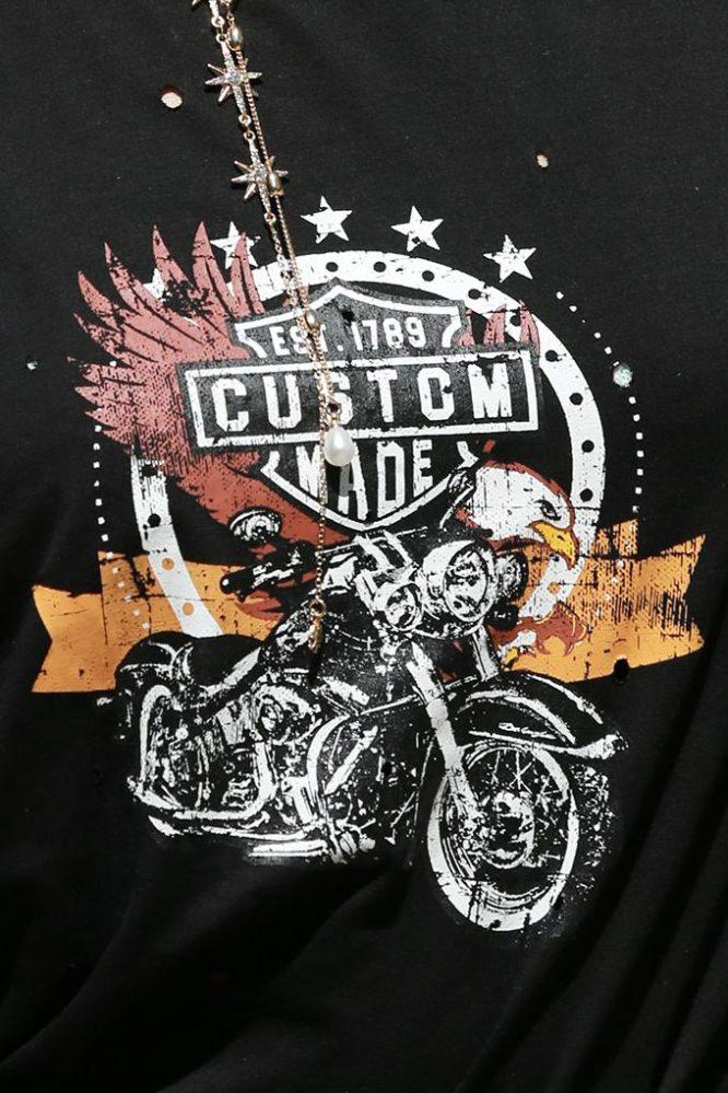 Custom Made Biker Tee5