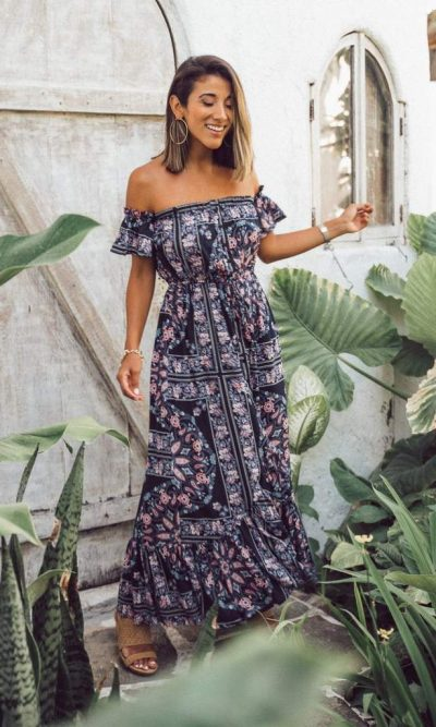 St Lucia Maxi Dress - San Jose The Label
