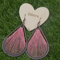 Fanfare Earrings in 5 colours pink