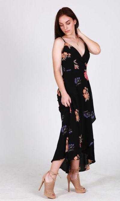 Cherish The Thought Dress - Black