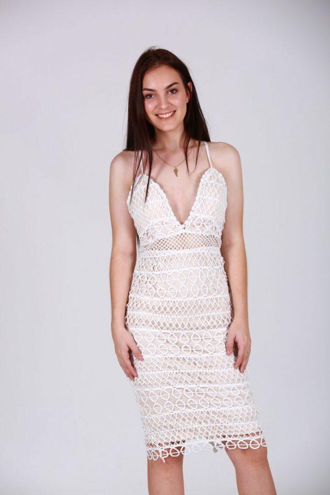 Paloma lace Dress white