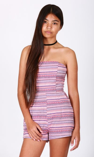 Nothing Else Matters Playsuit - Pink front