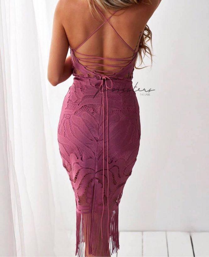 Khaleesi dress rouge 1