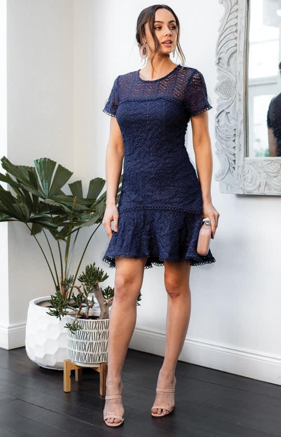 Matilda Lace Mini Dress
