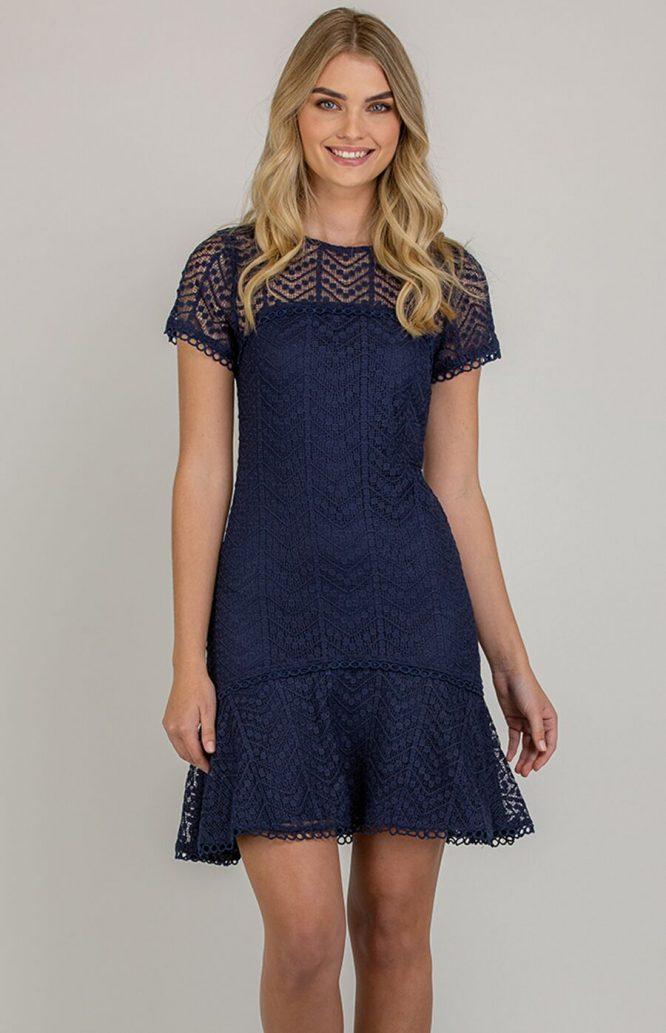 Matilda Lace Mini Dress4