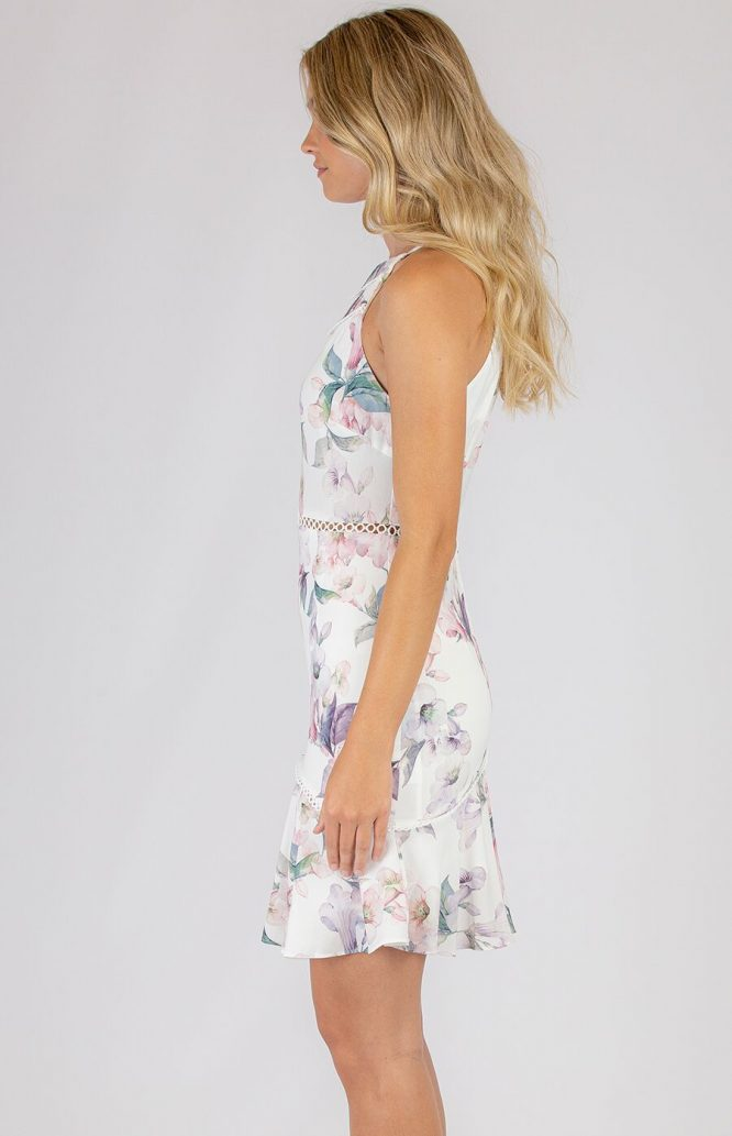 Raylene Floral Dress side