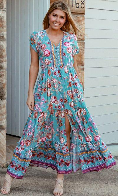 Ivory maxi dress main