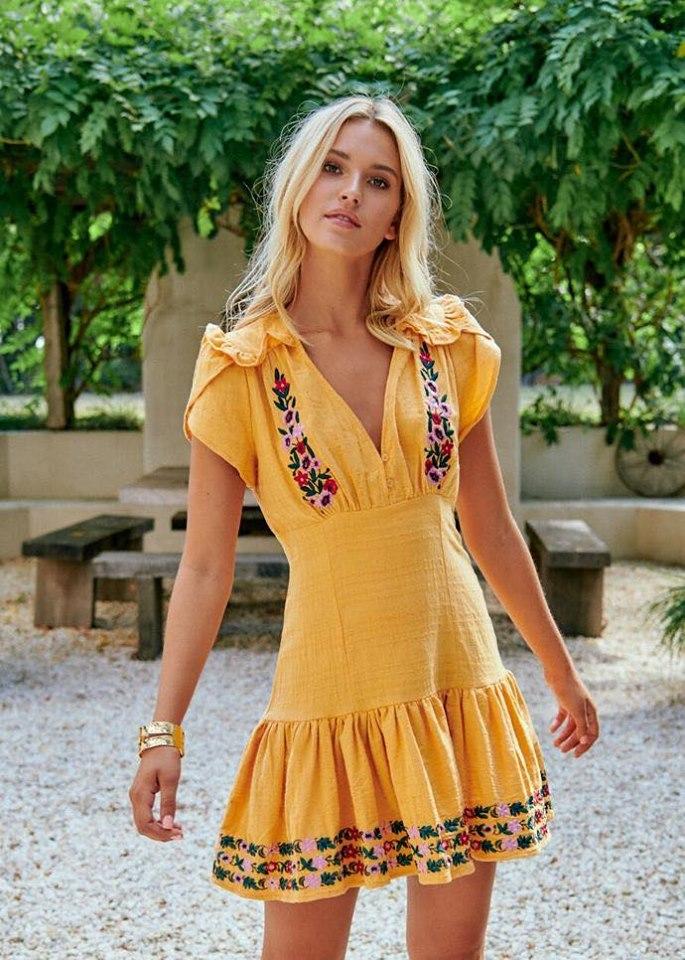 Mango Melody Tulu Mini Dress Jaase