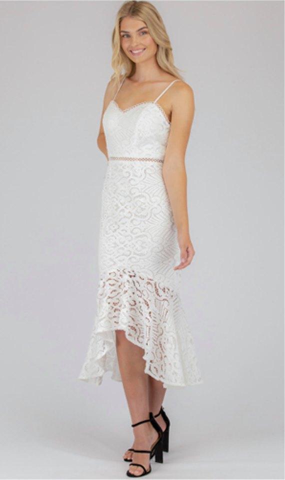 Felicity Lace Midi Dress