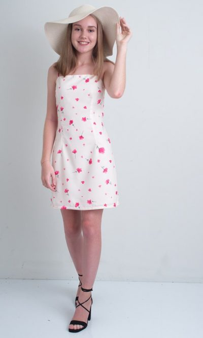 Dreamy Poppy Mini Dress - Luvalot Clothing